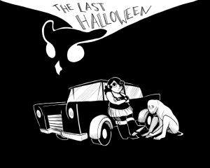 The Last Halloween title card