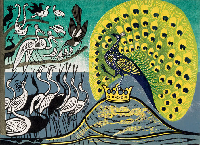 edward-bawden-peacock-and-magpie-print